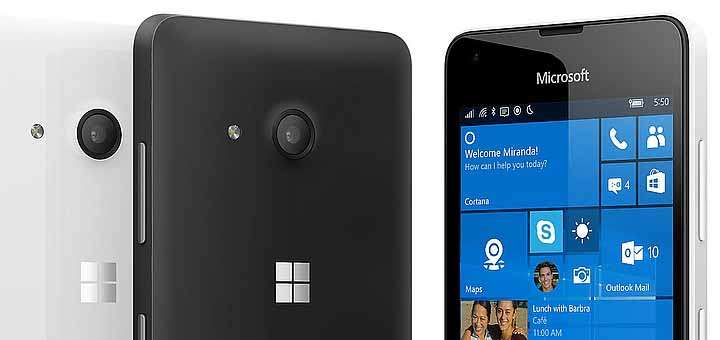 Microsoft Lumia 550 Unboxing and Quick Start